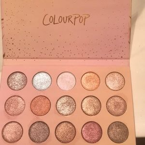 Colourpop Makeup - Colourpop Golden state of mind palette